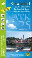 ATK25-H13 Schwandorf (Amtliche Topographische Karte 1:25000)