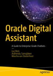 Oracle Digital Assistant; Volume 1