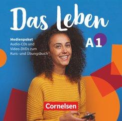 Das Leben - Deutsch als Fremdsprache - A1: Gesamtband - Medienpaket