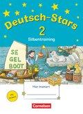 Deutsch-Stars: 2. Schuljahr - Silbentraining
