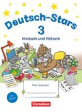 Deutsch-Stars: 3. Schuljahr - Knobeln und Rätseln