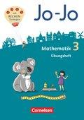 Jo-Jo Mathematik - Allgemeine Ausgabe 2018: 3. Schuljahr - Übungsheft; Band 3/1