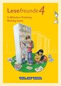 Lesefreunde - Lesen - Schreiben - Spielen - Östliche Bundesländer und Berlin - Neubearbeitung 2015 - 4. Schuljahr