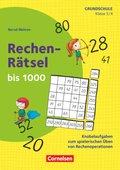 Rechen-Rätsel bis 1000 - Klasse 3/4