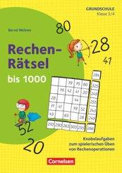 Rätseln und Üben in der Grundschule - Mathematik - Klasse 3/4