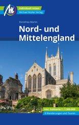Nord- und Mittelengland Reiseführer Michael Müller Verlag, m. 1 Karte; Tlbd/Part 113