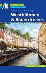 Westböhmen & Bäderdreieck Reiseführer Michael Müller Verlag, m. 1 Karte