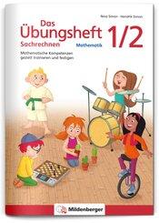 Das Übungsheft Sachrechnen Mathematik 1./2. Schuljahr