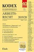 KODEX Arbeitsrecht 2019/20