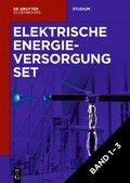 Elektrische Energieversorgung, 3 Bde. - Vol.1-3