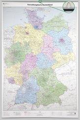 Verwaltungskarte Deutschland 1 : 750 000