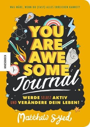 You are awesome - Journal