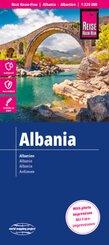 Reise Know-How Landkarte Albanien / Albania (1:220.000)