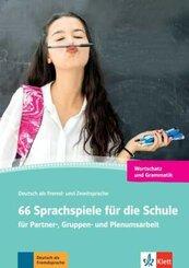 66 Sprachspiele für die Schule für Partner- und Gruppenarbeit