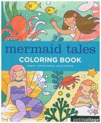 Malbuch Meerjungfrauen