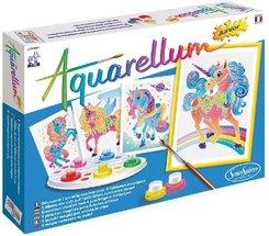 Aquarell-Malerei - Aquarellum Junior Einhörner
