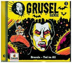 Gruselserie - Dracula - Tod im All, 1 Audio-CD