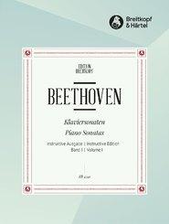 Klaviersonaten (Instruktive Ausgabe) - Bd.1