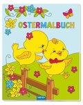 Ostermalbuch mit Glitzercover