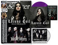 "Sonic Seducer: Titelstories Lacuna Coil & Mister Misery, m. 7"" Vinyl (transparent violett) und Cold Hands Seduction-CD Nr.212 (Lim. Edi; 2019/10"