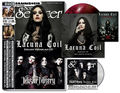 "Sonic Seducer: Titelstories Lacuna Coil & Mister Misery, m. 7"" Vinyl (rot-schwarz marmoriert) und Cold Hands Seduction-CD Nr.212 (Lim.; 2019/10"