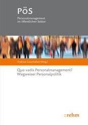 Quo vadis Personalmanagement?
