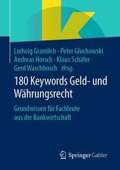 180 Keywords Geld- und Währungsrecht