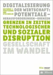 Grenzen in Zeiten technologischer und sozialer Disruption