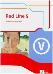 Red Line. Ausgabe ab 2014 -9. Klasse, Vokabeltraining aktiv - Bd.5