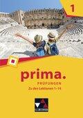 Prima - Latein lernen: Prüfungen