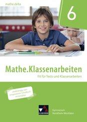 mathe.delta, Ausgabe Nordrhein-Westfalen (G9): 6. Schuljahr, Mathe.Klassenarbeiten