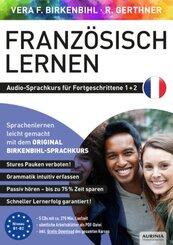 Französisch lernen für Fortgeschrittene 1+2, 5 Audio-CD