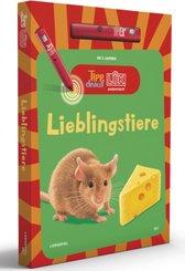 Tipp drauf! LÜK - Lieblingstiere, m. Stift