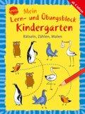 Mein Lern- und Übungsblock Kindergarten: Rätseln, Zählen, Malen