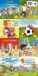 Pixi Bücher: Pixi-Box 267: Pixi spielt Fußball (8x8 Exemplare), 8 Teile. (64 Expl. (8 Titel))