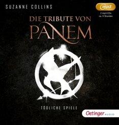 Die Tribute von Panem, 2 Audio-CD,
