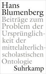 Beiträge zum Problem der Ursprünglichkeit der mittelalterlich-scholastischen Ontologie