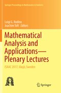 Mathematical Analysis and Applications-Plenary Lectures
