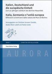 Italien, Deutschland und die europäische Einheit / Italia, Germania e l'unità europea