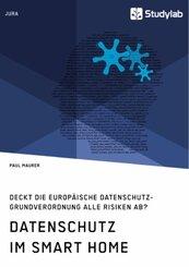 Datenschutz im Smart Home. Deckt die europäische Datenschutz-Grundverordnung alle Risiken ab?
