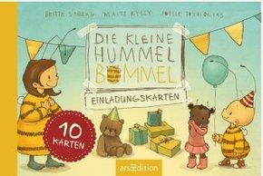 Die kleine Hummel Bommel - Einladungskarten; 1. Teilband