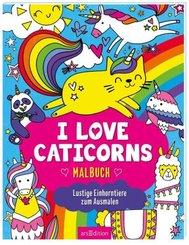 I love Caticorns - Malbuch