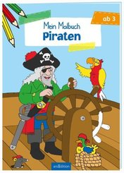 Mein Malbuch Piraten (5 Expl.)