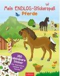 Mein Endlos-Stickerspaß Pferde