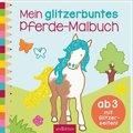 Mein glitzerbuntes Pferde-Malbuch; Band 4
