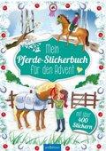 Mein Pferde-Stickerbuch für den Advent