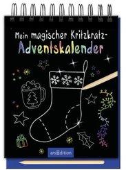 Mein magischer Kritzkratz-Adventskalender