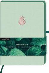 myNOTES Notizbuch A5 Classics Blatt grün