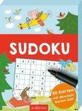Sudoku - 50 Karten mit abwischbarem Stift
