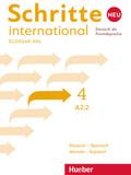 Schritte international Neu - Deutsch als Fremdsprache: Glossar XXL Deutsch-Spanisch - Alemán-Español; 4